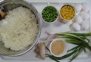Рецепт Рис с яйцом и овощами