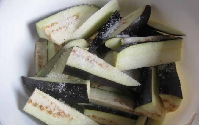 Салат баклажаны по-корейски - фото шаг 1