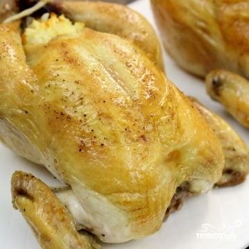 Курица, фаршированная рисом - фото шаг 5