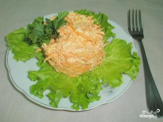 Морковь с сыром - фото шаг 4