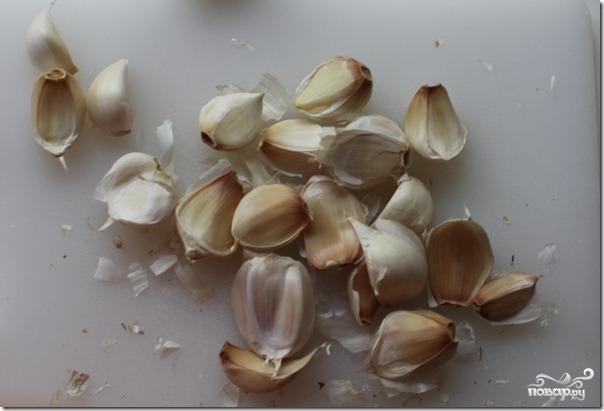 Рецепт Суп-пюре чесночный