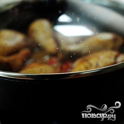 Курица с оливками - фото шаг 16