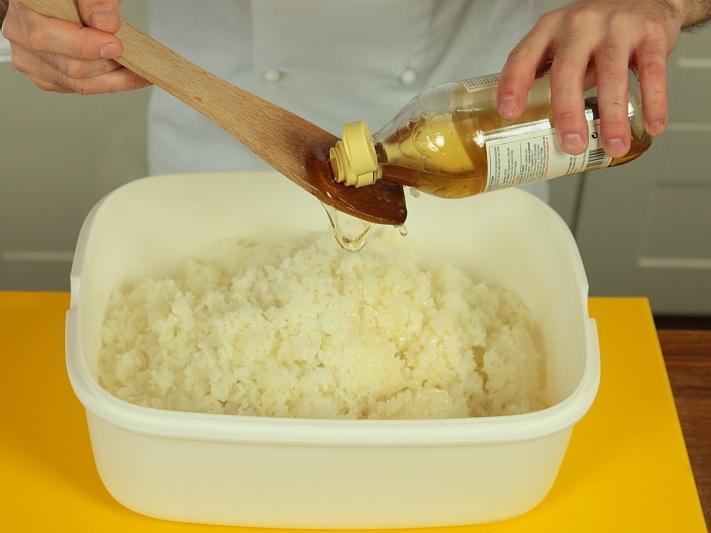 Как сделать рисовый уксус для роллов