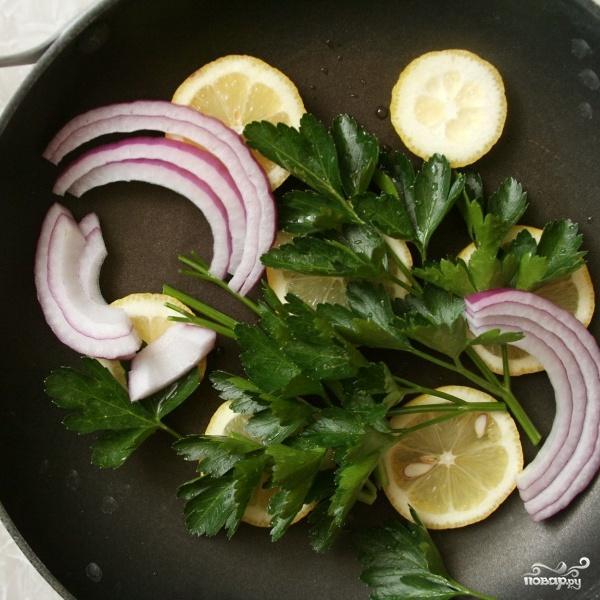 Салат с пастой и лососем - фото шаг 1