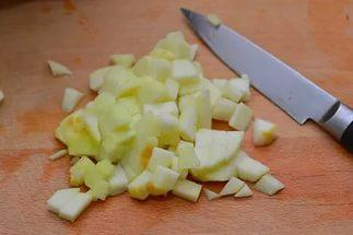 Яблочные сухарики - фото шаг 4