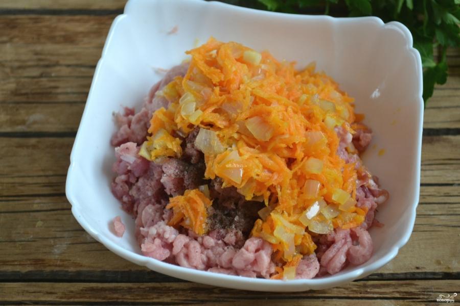 голубцы с мясом и рисом пошаговый рецепт с фото