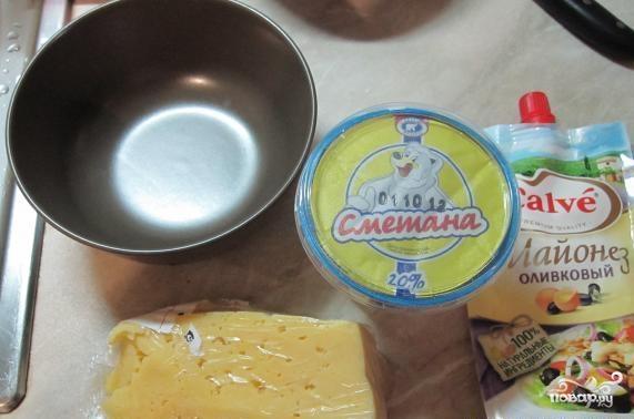 Цветная капуста запеченная в духовке со сметаной - фото шаг 3
