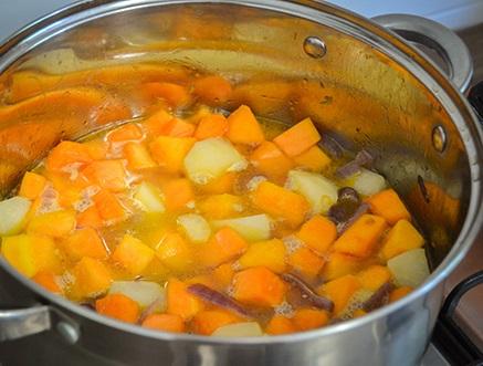 Суп-пюре из тыквы для детей - фото шаг 4