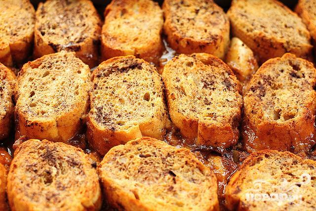 Французские тосты с яблоками и виски - фото шаг 5