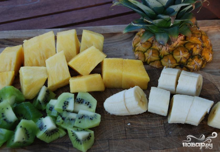 Витаминный напиток Тропики - фото шаг 1