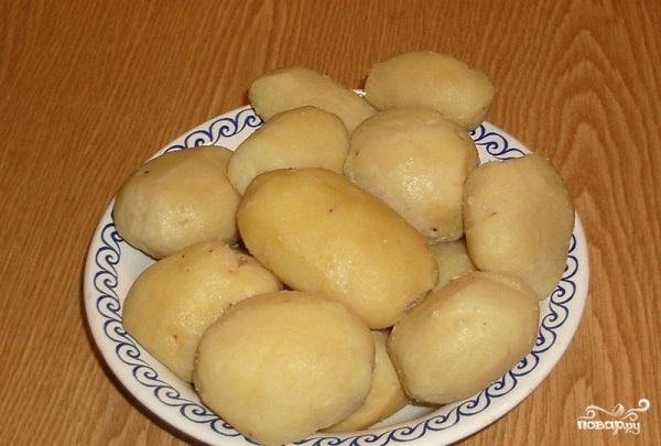 Картофельные пирожки с грибами - фото шаг 3