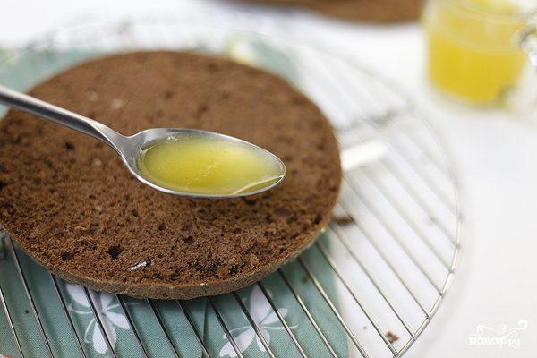 рецепт сироп для бисквитного торта