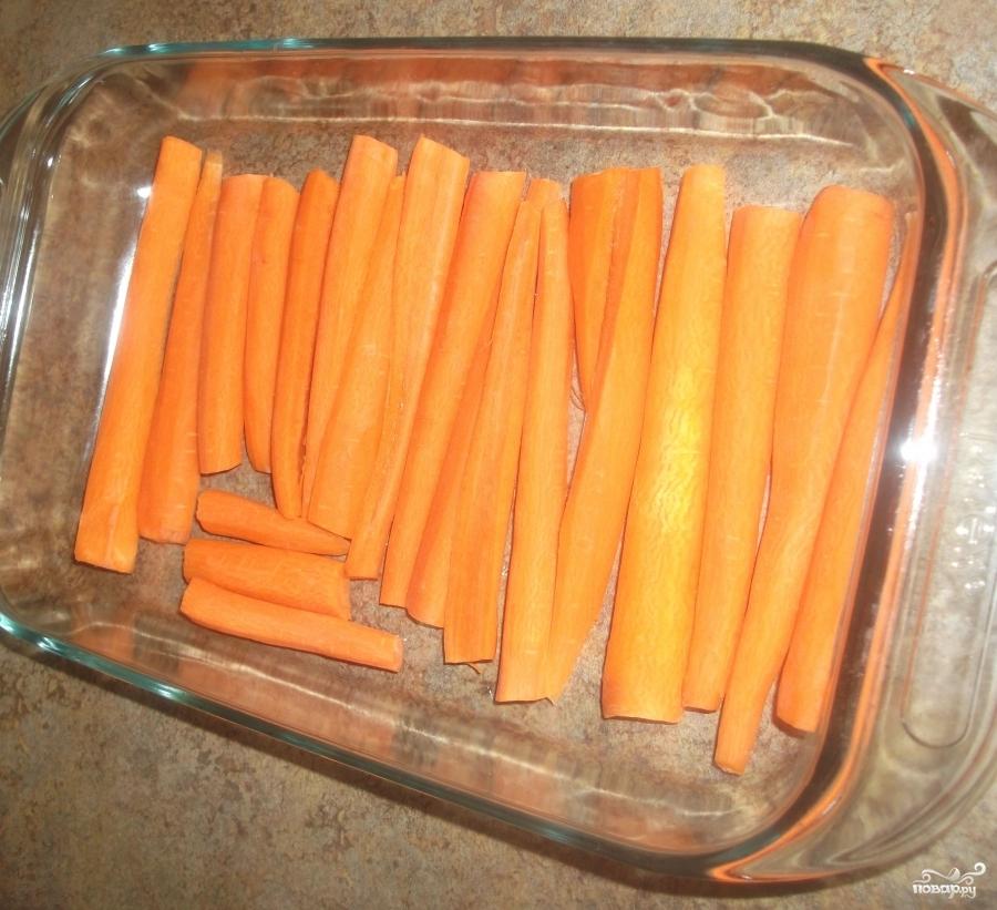 Морковь в фольге - фото шаг 3