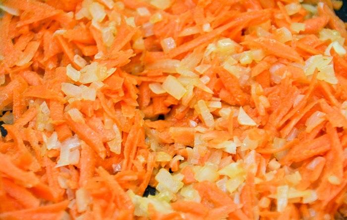 Салат с молоками лососевых рыб - фото шаг 4