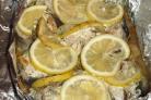 Горбуша в фольге с лимоном