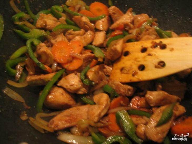 Курица по-китайски в кисло-сладком соусе - фото шаг 9