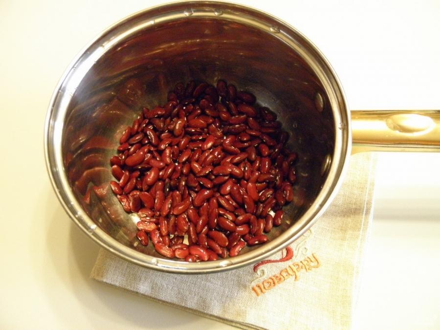 Лобио из красной фасоли классический