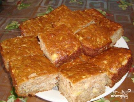 Яблочный пирог на растительном масле - фото шаг 9