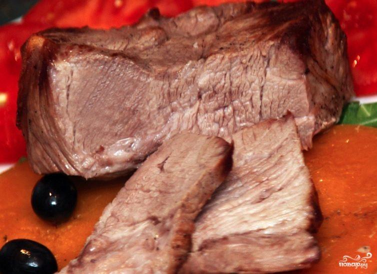 Мясо в рукаве в микроволновке
