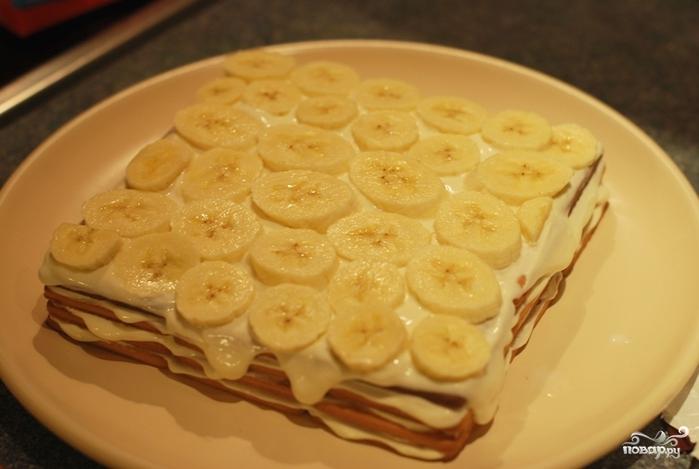 торты с печеньем без выпечки рецепты с пошаговым