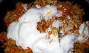 Бефстроганов из соевого мяса - фото шаг 7