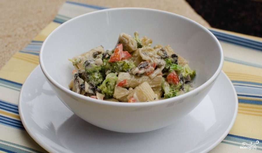Паста с овощами - фото шаг 10