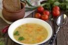 Суп картофельный с крупой