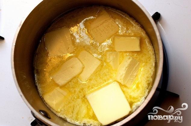 Сахарное печенье с коричневым маслом - фото шаг 1