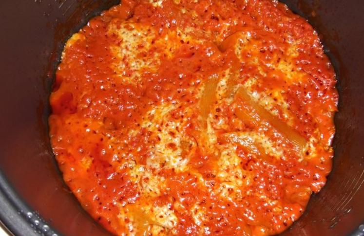 Каннеллони под томатным соусом - фото шаг 9