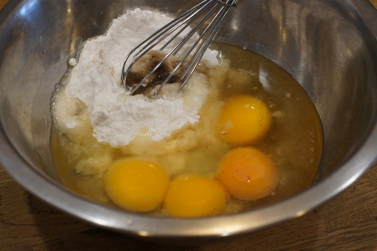 Тесто на желтках - фото шаг 1