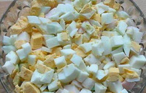 Рецепт Окрошка с колбасой на квасе