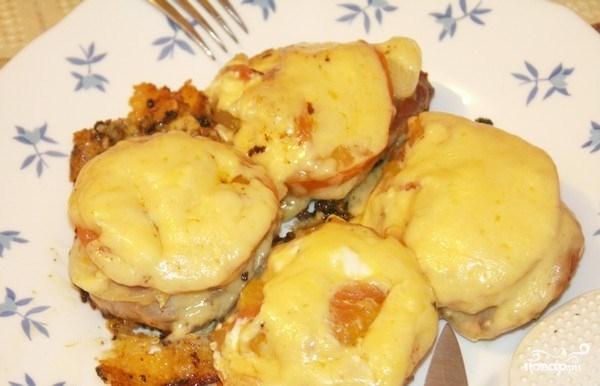 Свинина по-французски с сыром в мультиварке