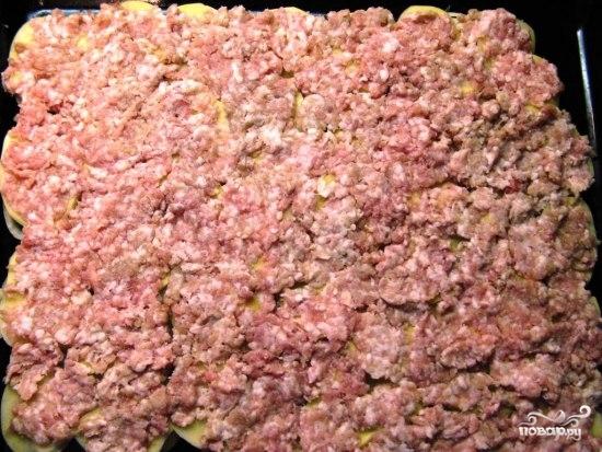 Мясо по-французски из фарша в духовке  - фото шаг 2