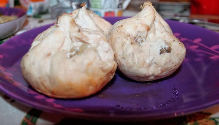 Курица диетическая с грибами