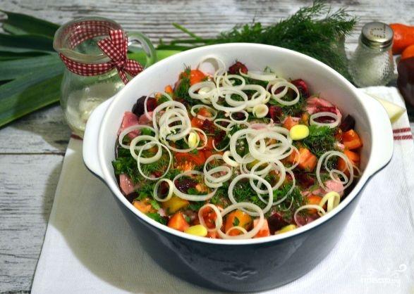 Овощное рагу со свининой в духовке - фото шаг 8