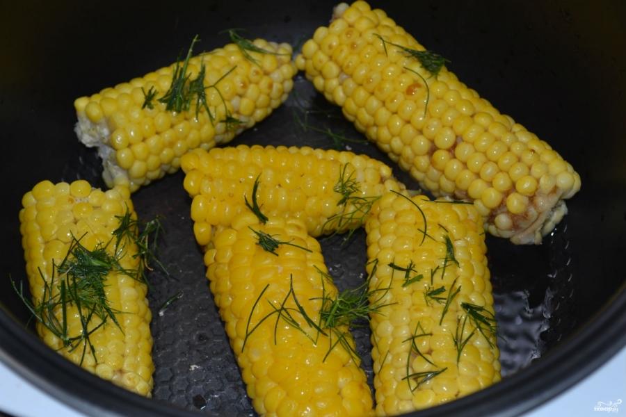 Запеченная кукуруза в мультиварке - фото шаг 5