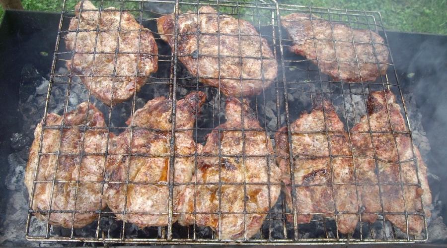 Стейк из говядины на мангале - фото шаг 5