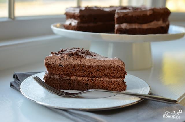 Воздушный бисквит для торта рецепт с фото
