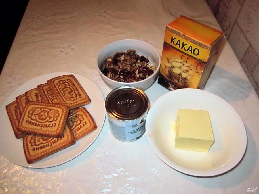 Пирожное картошка без печенья рецепт с фото