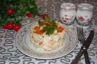 Салат Уральские самоцветы