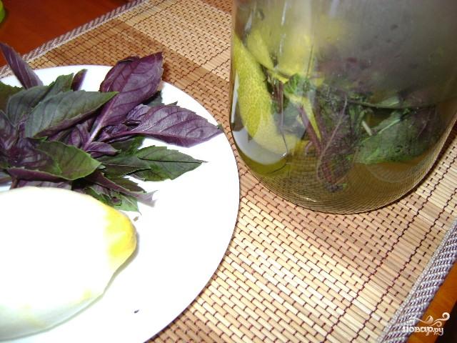 Базиликовый лимонад - фото шаг 4
