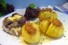 Картофель, запеченный под соусом Бешамель