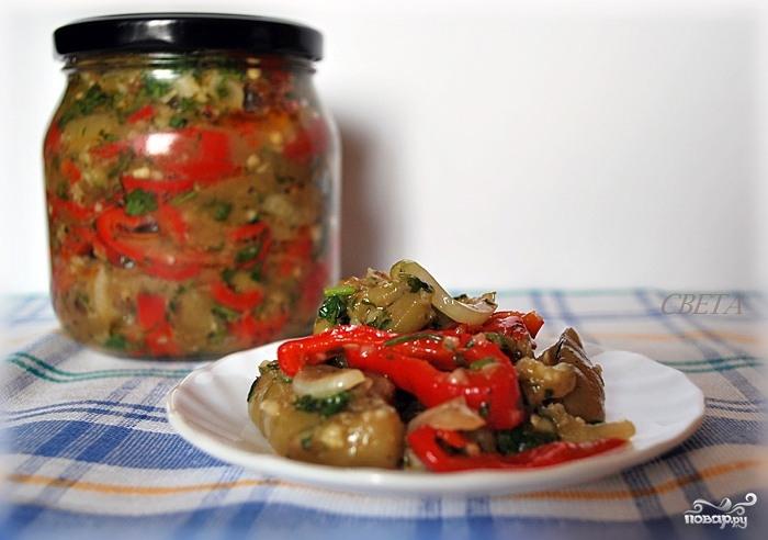 Рецепт Острые баклажаны на зиму