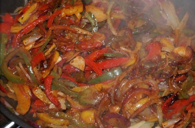 Мясо с овощами - фото шаг 6