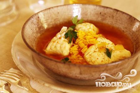 Рецепт Белая рыба с томатным соусом