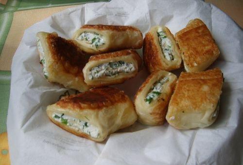 Рецепт пирожков из творога на сковороде