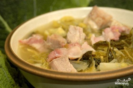 Рецепт Cуп из савойской капусты
