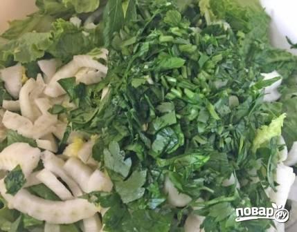 Салат с фенхелем - фото шаг 3