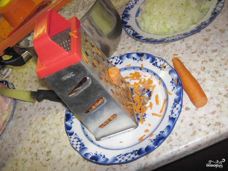 Солянка из капусты - фото шаг 3