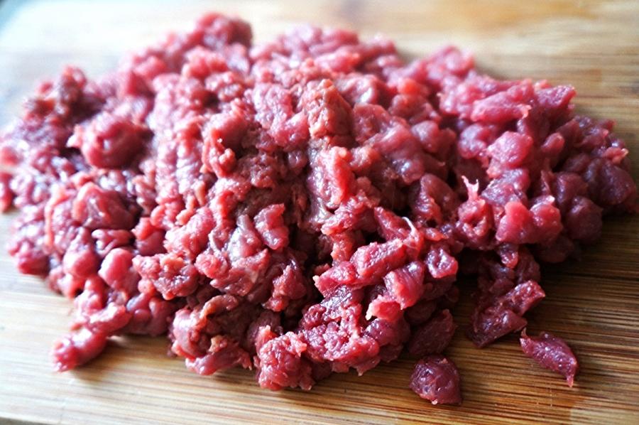 Рецепт Ромштекс из свинины рубленый